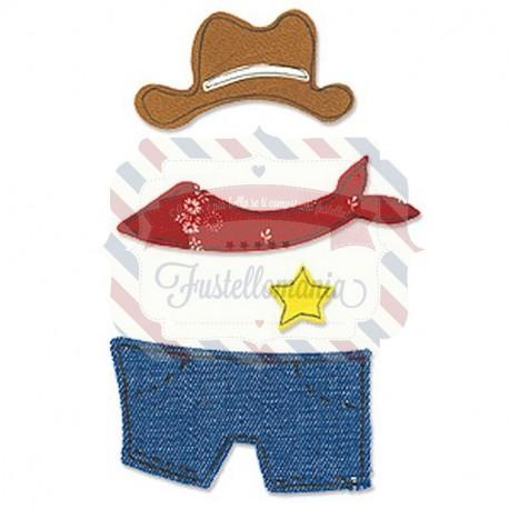Fustella Sizzix Bigz Cowboy outfit
