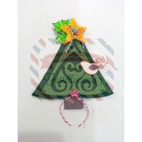 Fustella Sizzix BIGz XL Christmas Tree Album