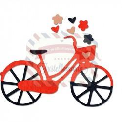 Fustella Sizzix Thinlits Bicycle