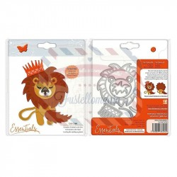 Fustella metallica Tonic Studios Leo Lion