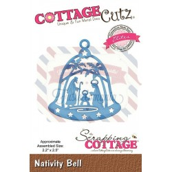 Fustella metallica Cottage Cutz Nativity Bell (Elites)