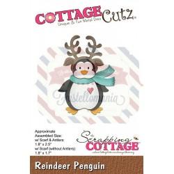 Fustella metallica Cottage Cutz Reindeer Penguin