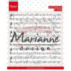 Timbro Marianne Design background Music Notes